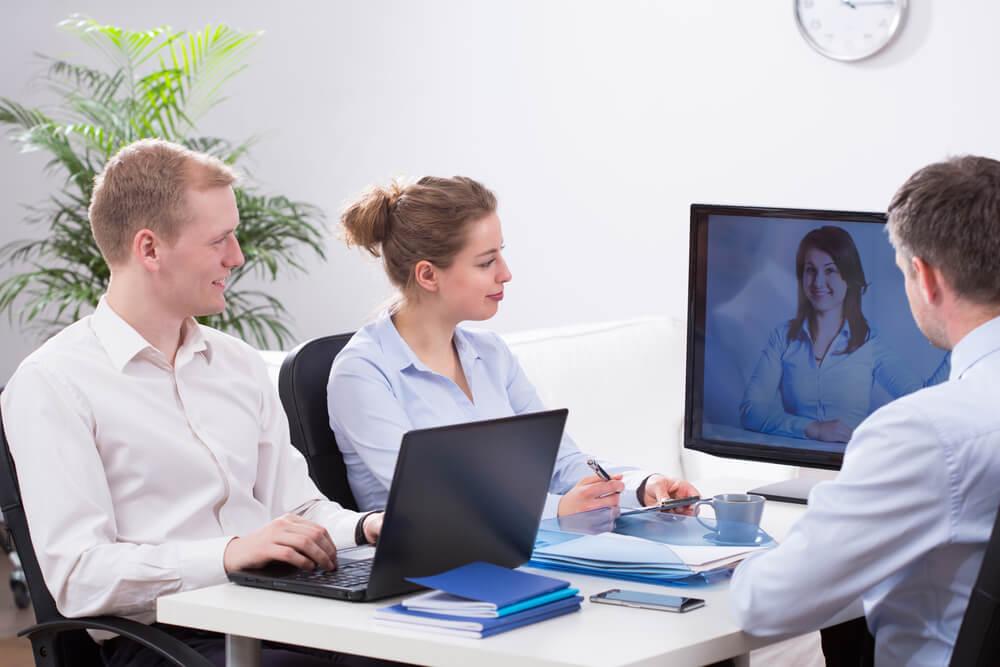 Tipos de videoconferência para empresas