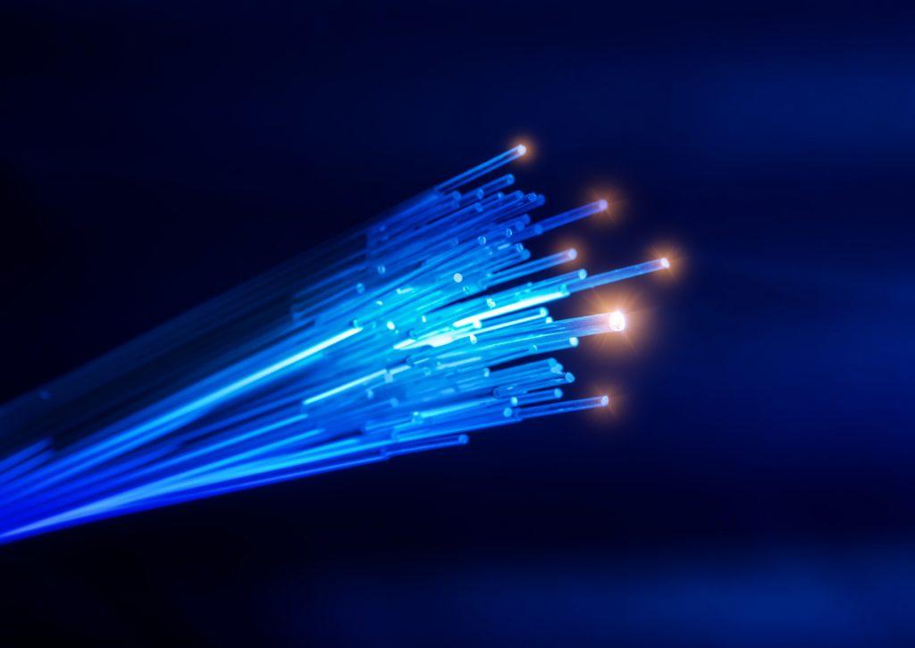 História da fibra óptica