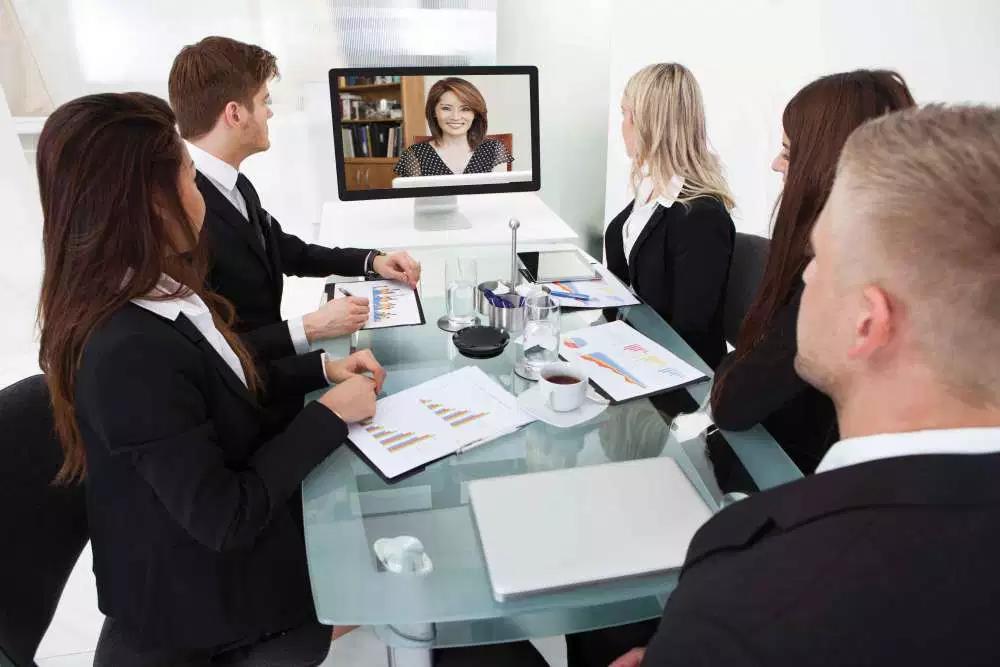 História da videoconferência