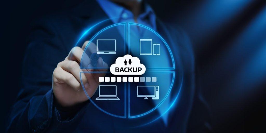 Backup das informações